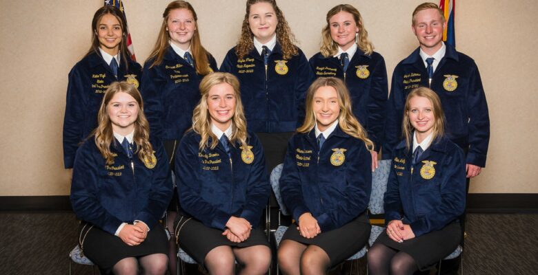 2021-2022-Wyoming-FFA-State-Officers